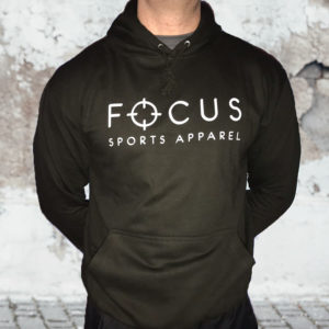Focus Black Hoodie | Focus Sports Apparel