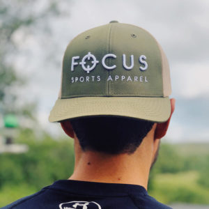 Focus Khaki Trucker | Focus Sports Apparel