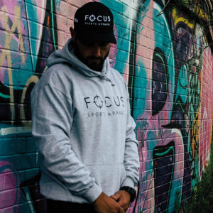 Focus Grey Hoodie | Focus Sports Apparel