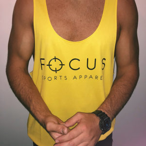 Focus Yellow Stringer | Focus Sports Apparel