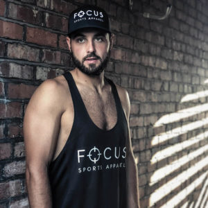 Focus Black Stringer | Focus Sports Apparel