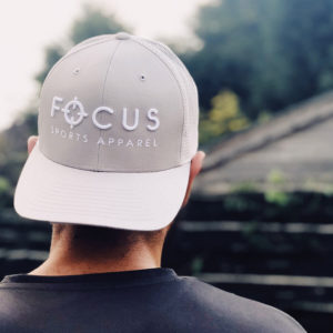 Focus Grey Trucker Cap | Focus Sports Apparel