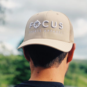 Focus Tan Trucker | Focus Sports Apparel