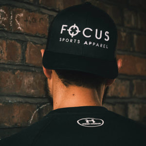 Focus Black Trucker Cap | Focus Sports Apparel