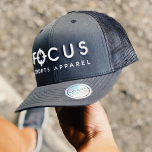 Focus Dark Grey Trucker | Focus Sports Apparel
