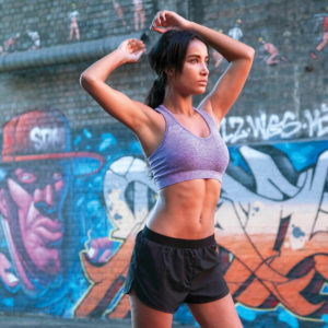 Focus Purple Seamless Sports Bra | Focus Sports Apparel