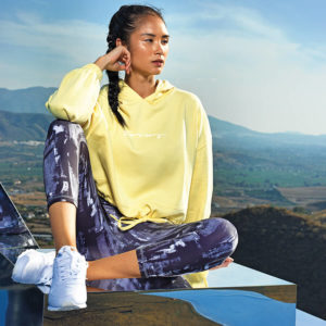 Focus Lemon Cropped Hoodie | Focus Sports Apparel