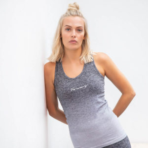 Focus Seamless Grey Ombre Vest | Focus Sports Apparel