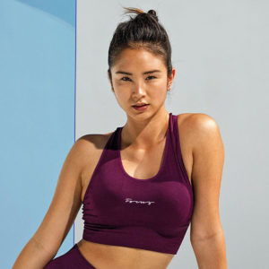 Focus Mulberry Reveal Bra | Focus Sports Apparel