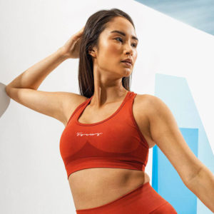 Focus Rust Sculpt Sports Bra | Focus Sports Apparel
