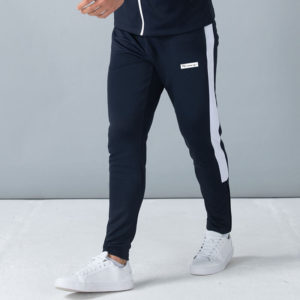 Focus Block Navy/White Tracksuit Pants