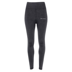 Focus Script Black Denim Look Leggings | Focus Sports Apparel
